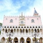 The Italy pavilion, Venice at Epcot, Disney World, Florida, USA. — Stock Photo