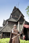 The Norway pavilion at Epcot, Disney World, Florida, USA. — Stock Photo