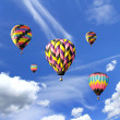 Hot air baloons. — Stock Photo