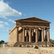 Valley of Temple, Agrigento, Sicily, Italy. — Stok Video #14854903