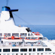Stock Photo: Cruise ship.