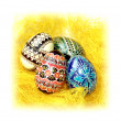 Painted Easter eggs. — Stock Photo #15689851