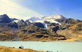 Pass Bernina, Switzerland. — Stock Photo
