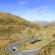 Foscagno Pass. Livigno, Lombardy, Italy. — Stock Photo #15770125