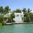 Villa in Miami, Florida, USA. — Stock Photo