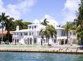 Villa em miami, flórida, eua. — Foto Stock