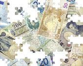 Dünya banknotlar. — Stockfoto