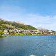 Saint Moritz, Switzerland. - Stock Photo