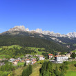 Canazei, Val di Fassa, Trent, Italy — Stock Photo