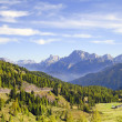San Pellegrino Pass, Trent, Italy. — Stock Photo