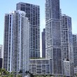 View of Miami, Florida, USA. — Foto Stock