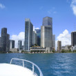 View of Miami, Florida, USA. - Stock Photo