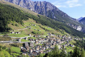 Val di Dentro, Lombardy, Italy. — Stock Photo