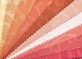 Amostras de tecido. — Fotografia Stock