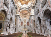 The Church of St. Catherine , Palermo Italy. — Stock Photo