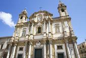 San Dominic Church , Palermo Italy. — Stock Photo