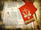 The Gospel, Religious book. — Stock Photo