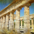 Ancient temple at Segesta, Sicily Italy. — Stock Photo