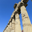 Archaeological Park of Selinunte, Sicily Italy — Stock Photo
