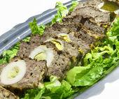Stuffed meatloaf — Stock Photo