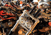 Harley Davidson motorcycle. — Stock Photo
