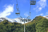 Chairlift in Pejo, Italy. — Stock fotografie