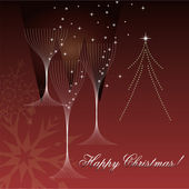 Happy new year celebration card design. — Stock Vector