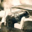 Vintage model car. — Stock Photo #28142903