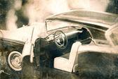 Vintage modelauto. — Stockfoto