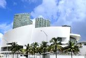 Miami, modern building. — Stock Photo