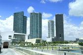 Miami, ansicht von der autobahn — Stockfoto