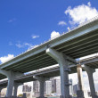 Stock Photo: Miami, elevated highway.