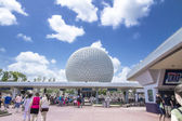 Main Entrance ad Epcot, Florida. — Stock Photo