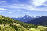 Fassa valley, Italy. — Stock Photo