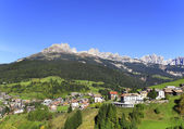 Moena in Fassa valley, Italy. — Stock Photo