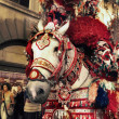 Feast of Santa Rosalia, Palermo, Sicily. July 14, 2010 — Stock Photo