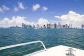 Miami, vue depuis le bateau. — Photo