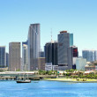 View of Miami, Florida, USA. — Stock Photo
