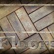 Hardwood Floors background. — Stock Photo