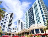 マイアミ、フロリダ州でモダンなホテル — ストック写真