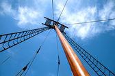 Starobylé lodi v přístavu objev v penetanguishene, kanada. — Stock fotografie