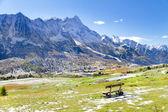 Passo Tonale, Trentino Alto Adige, Italy. — Stock Photo
