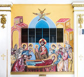 Interior of Saint George Orthodox Church, Orlando, Florida — Stock Photo
