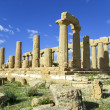 Valley of the Temples, archaeological park, Agrigento, Sicily, Italy. — Stock Photo