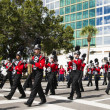 Orlando, USA - November 9 Veterans Day Celebration. — Stock Photo