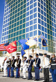 Orlando, USA - November 9 Veterans Day Celebration. — Stock Photo