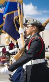 Orlando, USA - November 9, 2013 Veterans Day Celebration. — Stok fotoğraf