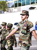Orlando, USA - November 9 Veterans Day Celebration. — Stok fotoğraf