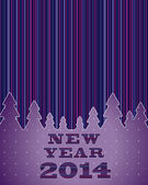 New Year Background, 2014 — Stock Vector