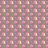 Christmas Pattern background — Vetorial Stock
